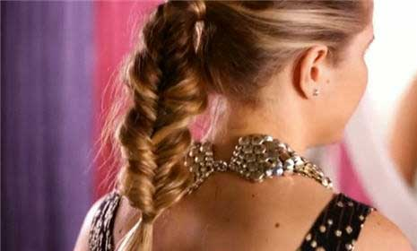 Pretty Prom Hair: How To Make a Fishtail High Ponytail