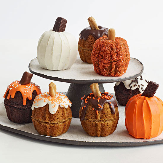 Mini Pumpkin Cakes Family Circle