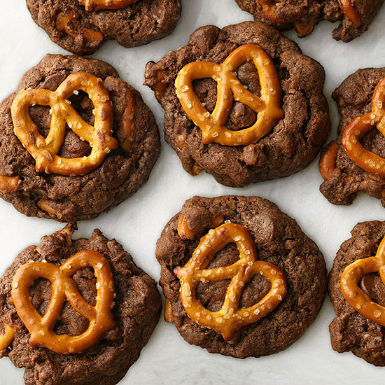 Chocolate Pretzel Cookies Family Circle