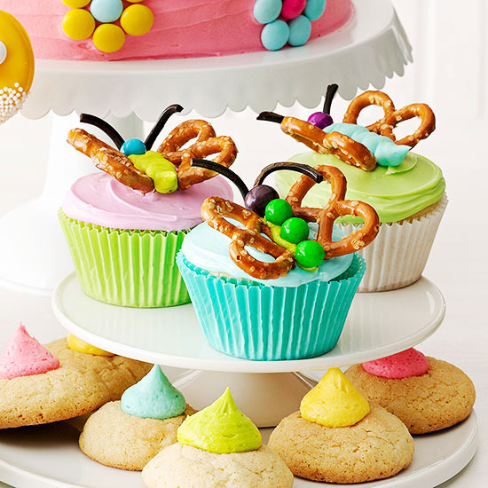 cupcake craft ideas butterfly cupcakes family circle 1823