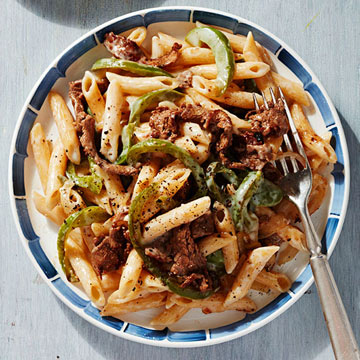 Philly Cheesesteak Penne