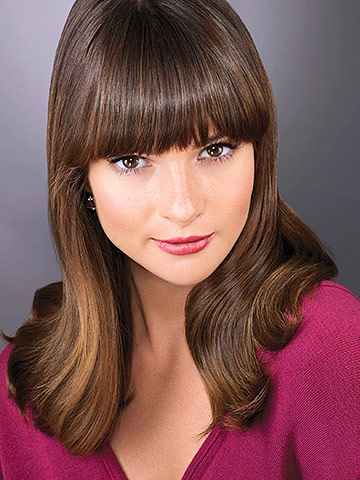ways to style hair with bangs 3 gorgeous ways to style bangs family circle 7622