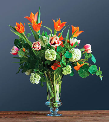 Bold Spring Flower Arrangements Family Circle