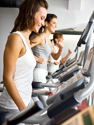 An Easy, Effective Treadmill Workout | Family Circle