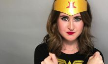 Easy Wonder Woman Halloween Makeup Tutorial