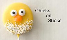 How to Make Chicks on a Stick
