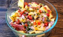 Melissa Cookston's Grilled Pineapple-Bacon Salsa