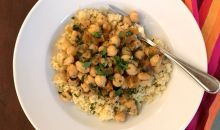 moroccan chickpeas with apricots