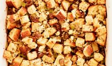 stuffing dish with sausage