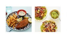 boston fish and chips vs los angeles shrimp tacos