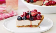 Creamy Berry Pie