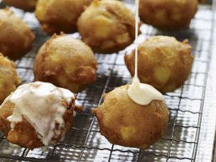 Apple Fritters with Calvados