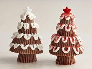 How to Make Peanut Butter Cup Trees