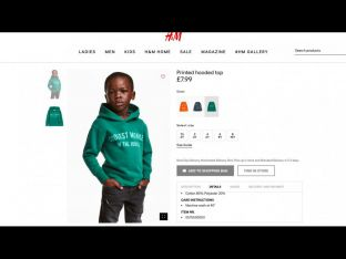 H&M Hoodie Coolest Monkey in the Jungle