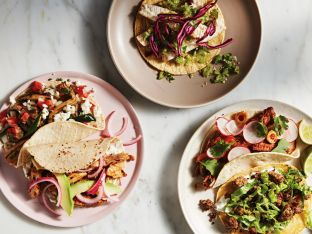 Healthy Family Dinner Tacos