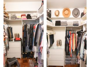 Dori's Closet Before and After