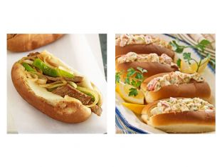 Philly Cheesesteaks vs New England Lobster Rolls