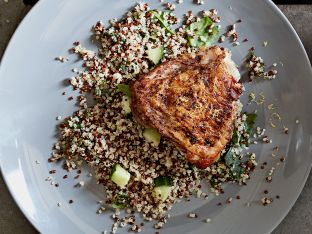 five-spice chicken and quinoa salad