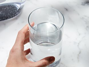 Clean water in glass 2019