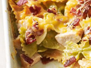 Chicken-Bacon Bowtie Bake