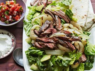 Beef Fajita Steakhouse Salad