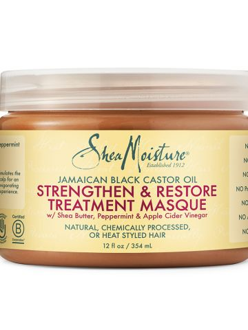 SheaMoisture Jamaican Black Castor Oil Strengthen & Restore Treatment Masque