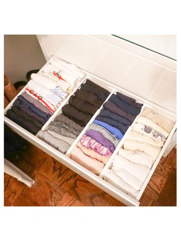 Dori's Master Closet AFTER drawers