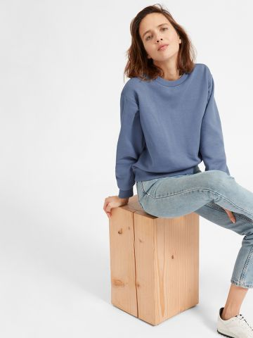 Everlane Oversized Fleece Crew