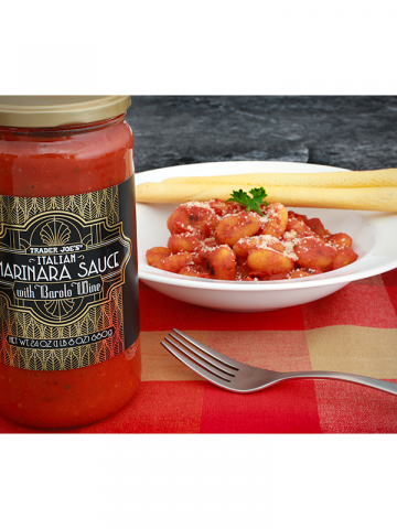 Italian Marinara Sauce with Barolo Wine