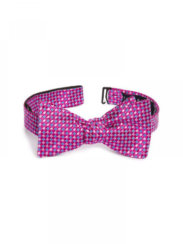 Ted Baker pink silk bowtie
