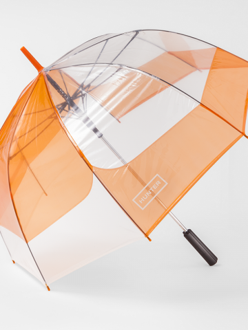 Hunter x Target orange umbrella