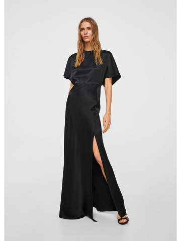 Mango black prom gown