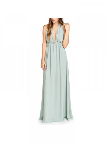 Show Me Your MUMU mint prom gown