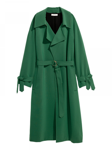 H&M Trench Green