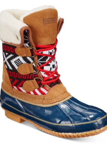 KHOMBU Jenna Lace-Up Cold Weather Booties.jpg