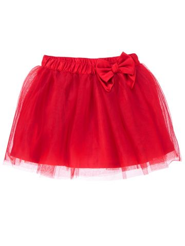Red Tulle Skirt w_ Bow - $34.95.jpg