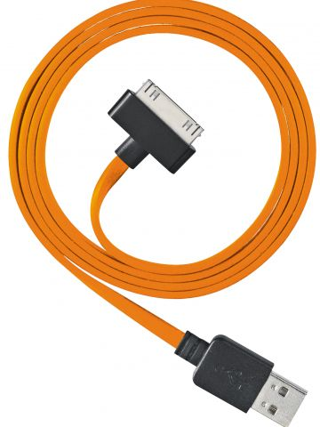 Ventev-Chargesync_Apple_30pin_cable_Orange.jpg