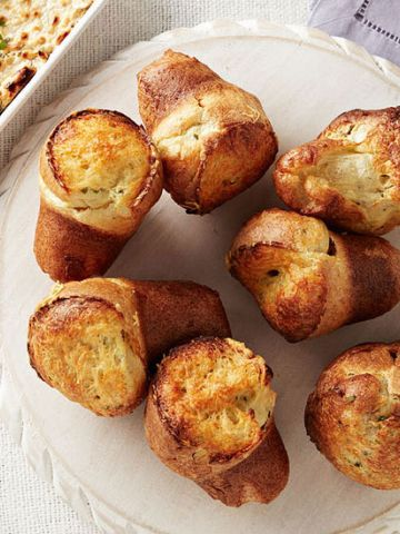 Herb and Asiago Popovers
