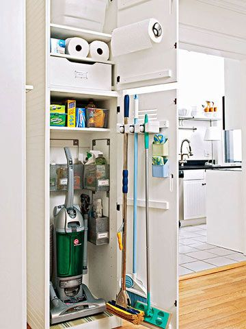 Reorganize Your Utility Closet Family Circle
