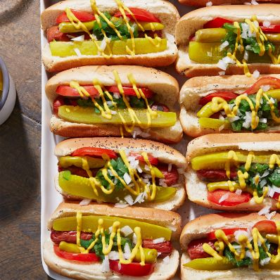 Kevin Kolman's Chicago-Style Hot Dogs