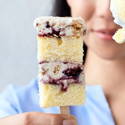 Layered Ice Cream Pops