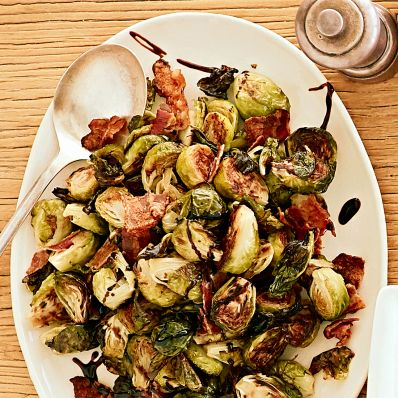 bacon and brussels sprouts side