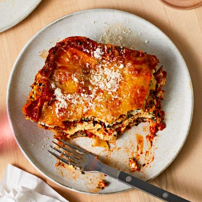 spinach lasagna with ricotta