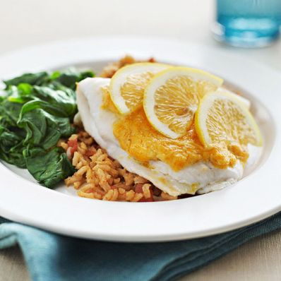 Cheesy-Chipotle Flounder