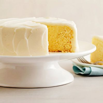 Steamed Lemon Cake