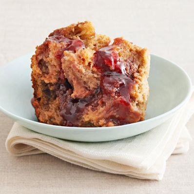 PB&J Bread Pudding