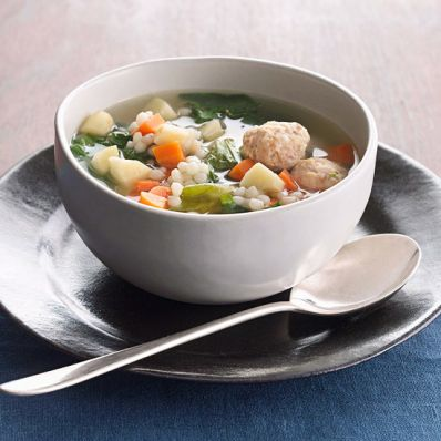 Mini Meatball Soup