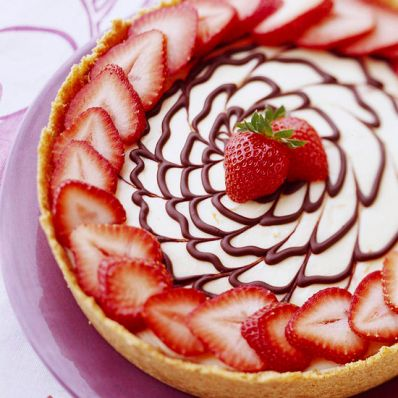 Easy Swirl Cheesecake