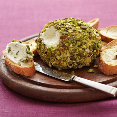 Goat-Cheese Pistachio Ball