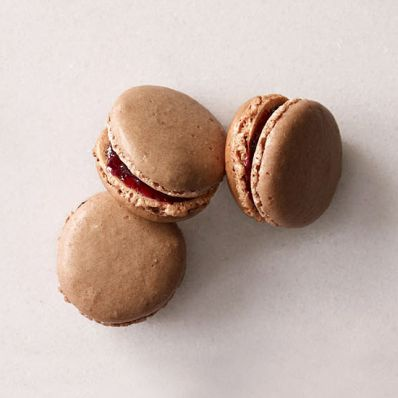 Black Forest Macarons